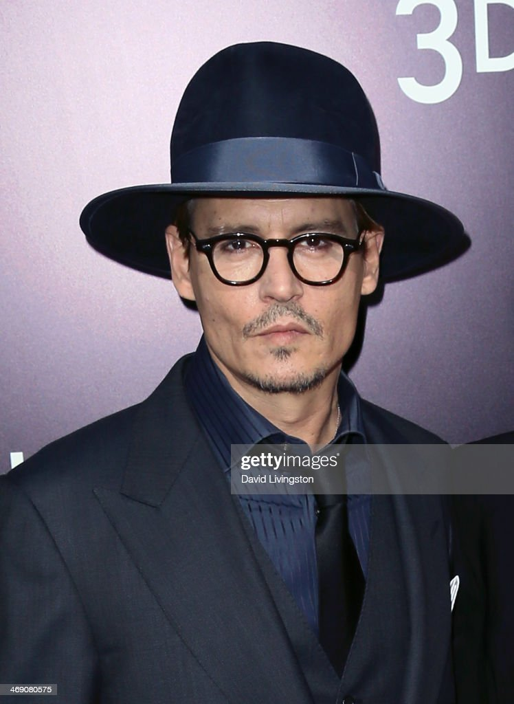 Actor Johnny Depp attends the premiere of Relativity Media's '3 Days to Kill' at ArcLight Cinemas on February 12, 2014 in Hollywood, California.