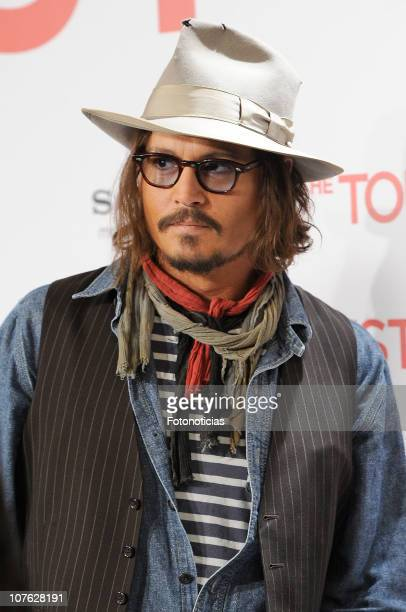 Actor Johnny Depp attends 'The Tourist' photocall at the Villamagna Hotel on December 16, 2010 in Madrid, Spain.