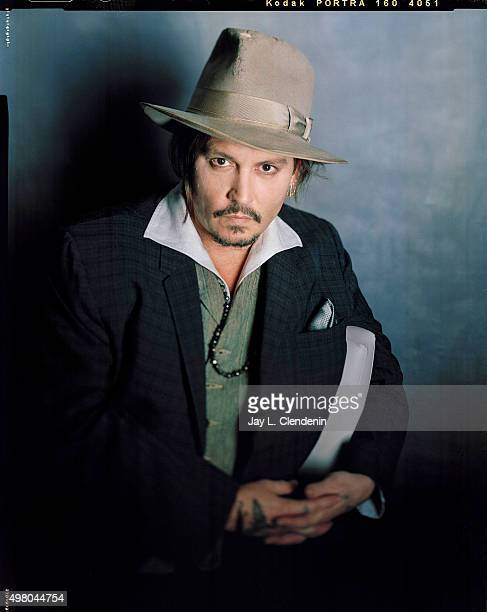 Actor Johnny Depp is photographed for Los Angeles Times on November 1 2015 in Los Angeles California PUBLISHED IMAGE CREDIT MUST READ Jay L...