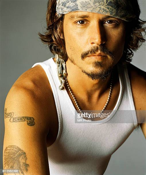 Actor Johnny Depp is photographed for Rolling Stone Magazine in 2006