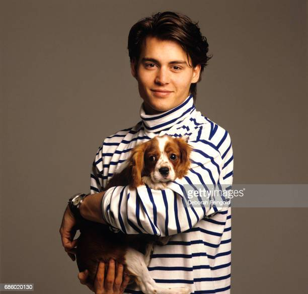 Actor Johnny Depp poses for a portrait in 1988 in New York City New York