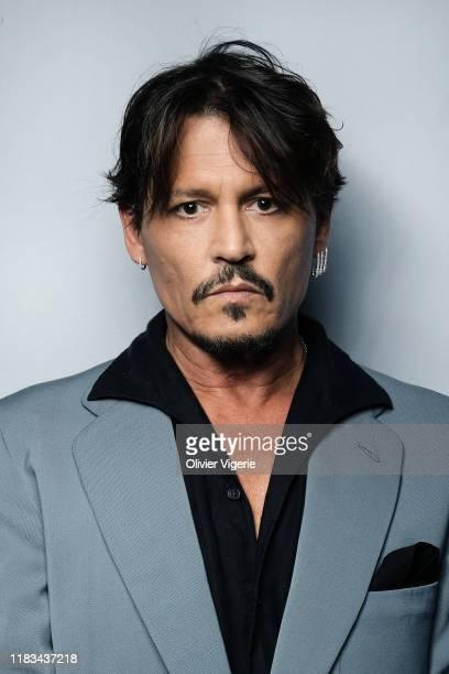 Actor Johnny Depp poses for a portrait on September 8, 2019 in Paris, France.