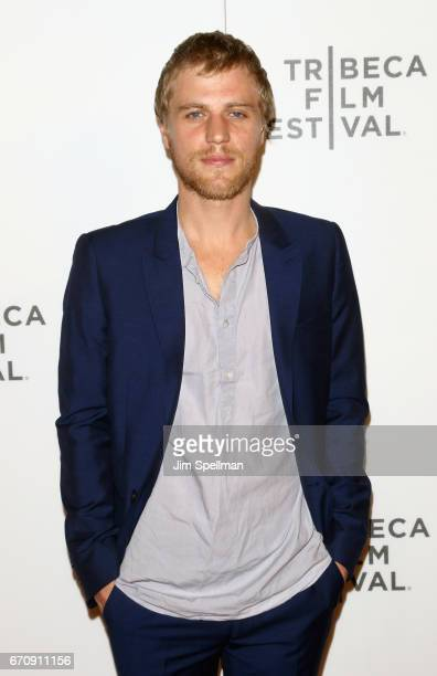 Actor Johnny Flynn attends the 2017 Tribeca Film Festival 'Genius' screening at BMCC Tribeca PAC on April 20 2017 in New York City