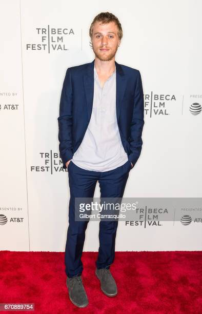 Actor Johnny Flynn attends the 'Genius' Premiere during the 2017 Tribeca Film Festival at BMCC Tribeca PAC on April 20 2017 in New York City