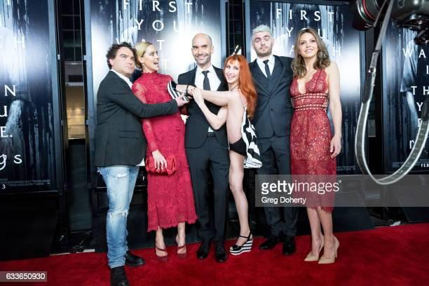 Actor Johnny Galecki Actress Matlida Lutz Director Javier Gutierrez Actress Bonnie Morgan Actor Alex Rose and Actress Aimee Teegarden attend the...