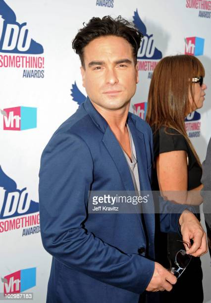 Actor Johnny Galecki arrives at the 2010 VH1 Do Something Awards held at the Hollywood Palladium on July 19 2010 in Hollywood California