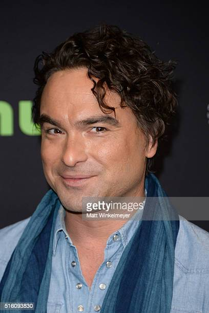 Actor Johnny Galecki arrives at The Paley Center For Media's 33rd Annual PALEYFEST Los Angeles 'The Big Bang Theory' at Dolby Theatre on March 16...