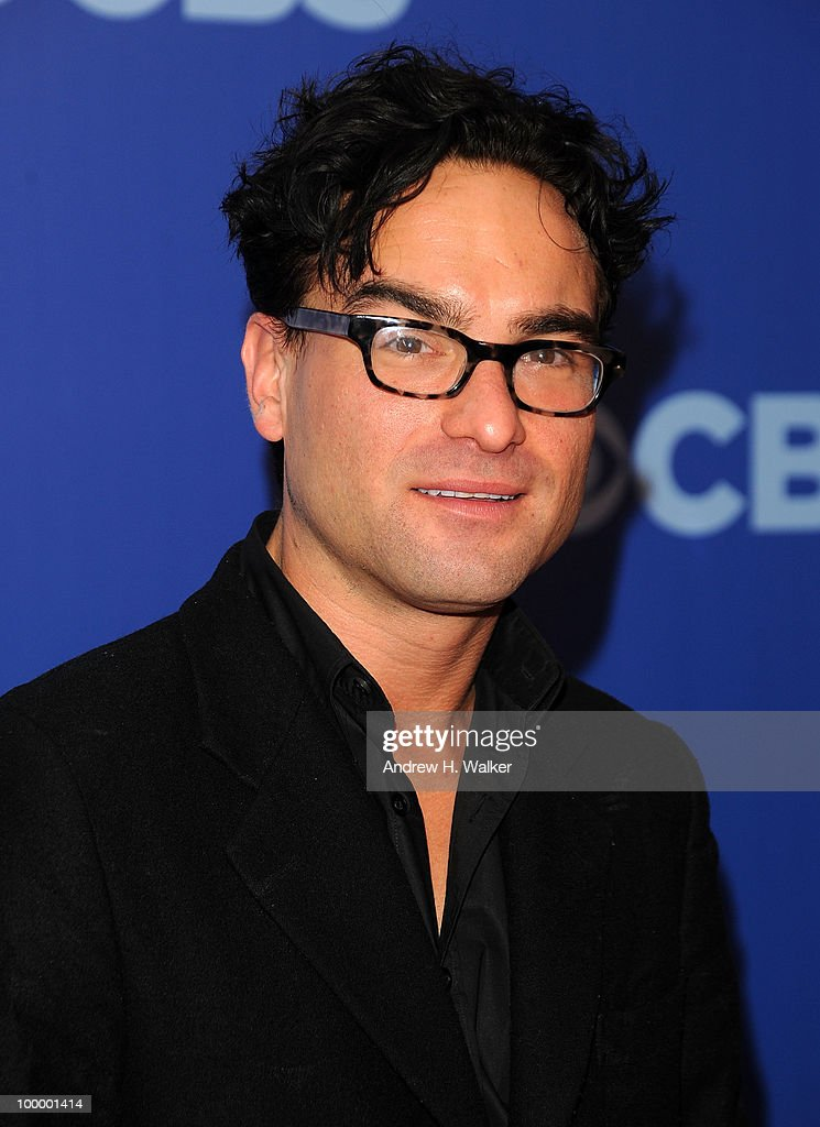 Actor Johnny Galecki attends the 2010 CBS UpFront at Damrosch Park, Lincoln Center on May 19, 2010 in New York City.