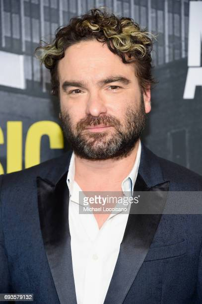 Actor Johnny Galecki attends the 2017 CMT Music Awards at the Music City Center on June 7 2017 in Nashville Tennessee