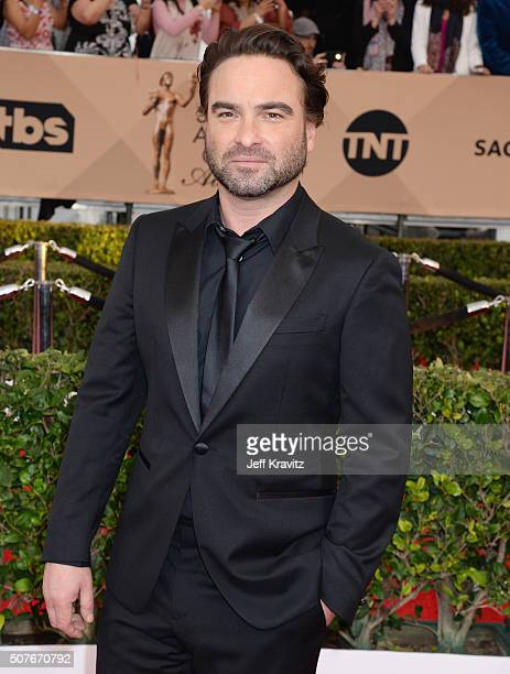 Actor Johnny Galecki attends the 22nd Annual Screen Actors Guild Awards at The Shrine Auditorium on January 30 2016 in Los Angeles California