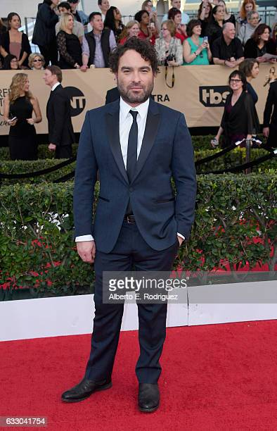 Actor Johnny Galecki attends the 23rd Annual Screen Actors Guild Awards at The Shrine Expo Hall on January 29 2017 in Los Angeles California
