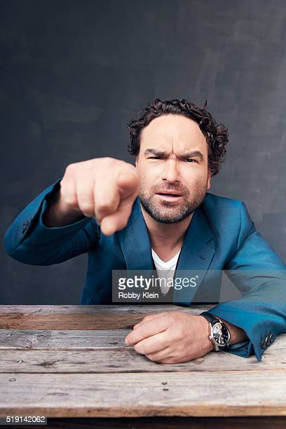 Actor Johnny Galecki is photographed for The Wrap on March 13 2016 in Austin Texas