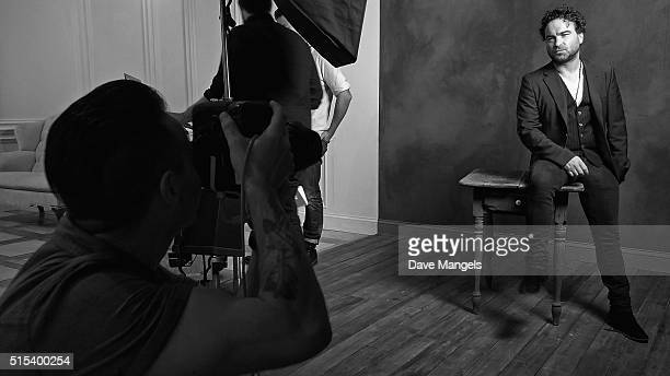 Actor Johnny Galecki of 'The Master Cleanse' is seen behind the scenes in the Getty Images SXSW Portrait Studio powered by Samsung on March 13, 2016...