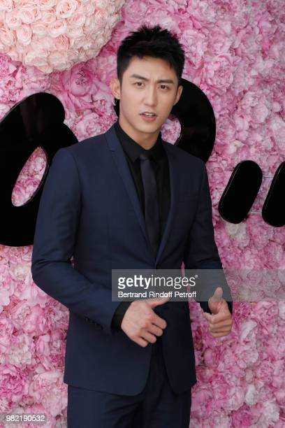Actor Johnny Huang attends the Dior Homme Menswear Spring/Summer 2019 show as part of Paris Fashion Week on June 23 2018 in Paris France