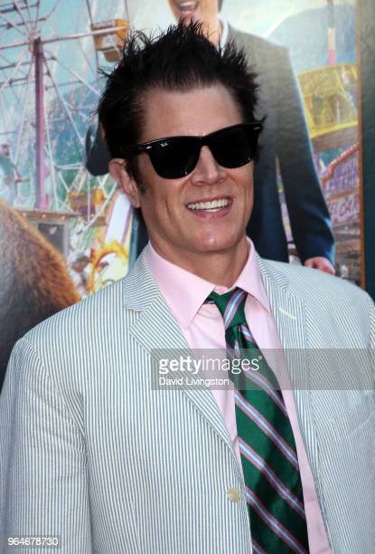 Actor Johnny Knoxville attends the premiere of Paramount Pictures' 'Action Point' at ArcLight Hollywood on May 31 2018 in Hollywood California