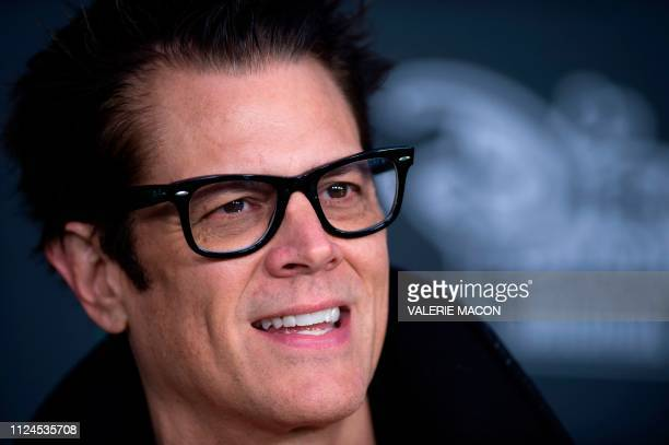 Actor Johnny Knoxville attends the world premiere of Disney channel original movie Kim Possible in North Hollywood California on February 12 2019