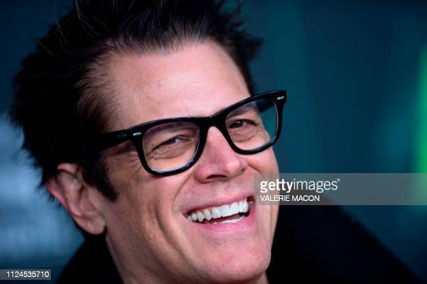 Actor Johnny Knoxville attends the world premiere of Disney channel original movie 'Kim Possible' in North Hollywood California on February 12 2019