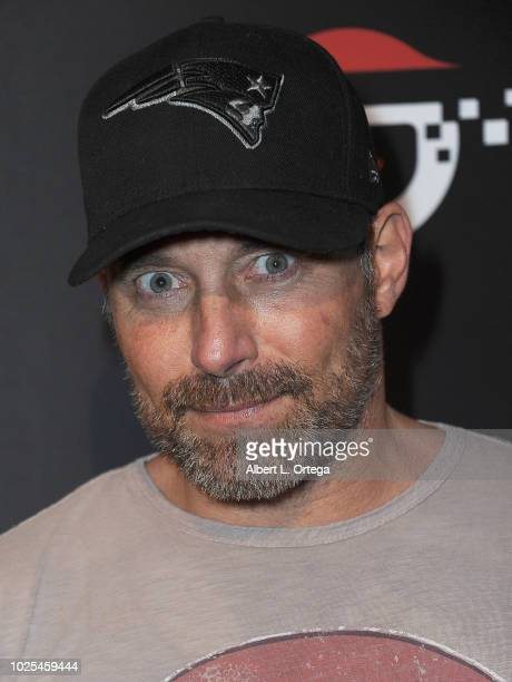 Actor Johnny Messner arrives for the premiere of Cinedigm's Silencer held at Laemmle's Ahrya Fine Arts Theatre on August 30 2018 in Beverly Hills...