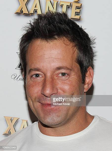 Actor Johnny Messner attends the Grammy Xante Party with Jonas Hallberg and Ina Soltani at Private Residence on February 12 2011 in Pacific Palisades...