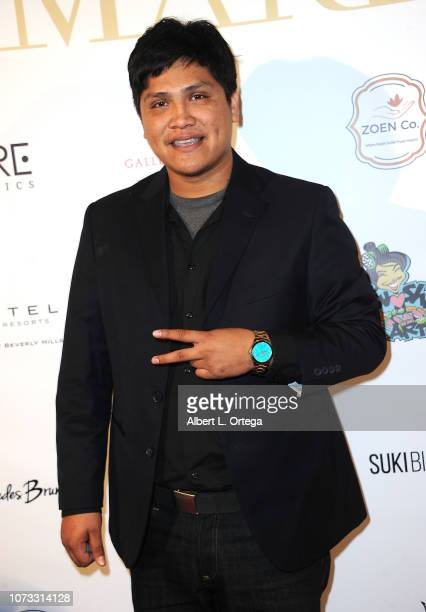 Actor Johnny Ortiz attends the Amare's Second Year Anniversary 'Believe Issue' Party held at Sofitel Los Angeles At Beverly Hills on December 13 2018...
