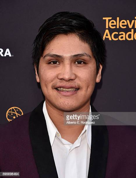 Actor Johnny Ortiz attends the Television Academy And SAGAFTRA's 4th Annual Dynamic and Diverse Celebration at The Saban Media Center on August 25...