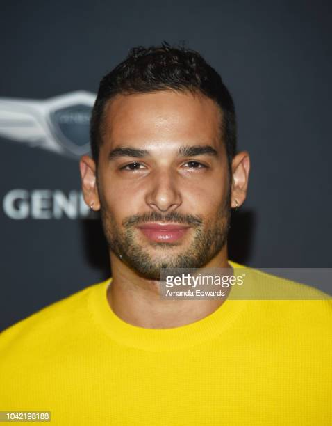 Actor Johnny Sibilly arrives at OUT Magazine's Annual Power 50 Celebration at NeueHouse Hollywood on September 27 2018 in Los Angeles California