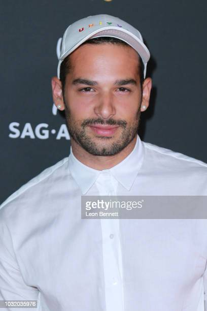 Actor Johnny Sibilly attends the Television Academy And SAGAFTRA CoHost Dynamic Diverse Emmy Celebration at Saban Media Center on September 11 2018...