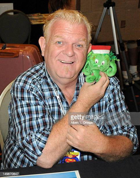 Actor Johnny Whitaker participates in The Hollywood Show held at Burbank Airport Marriott Hotel Convention Center on August 5 2012 in Burbank...