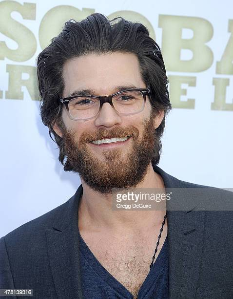 Actor Johnny Whitworth arrives at the Los Angeles premiere of 'Escobar Paradise Lost' at ArcLight Hollywood on June 22 2015 in Hollywood California