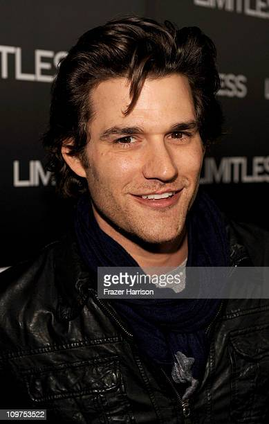 Actor Johnny Whitworth arrives at the special screening of 'Limitless' presented by Relativity Media held at ArcLight Cinemas on March 3 2011 in...