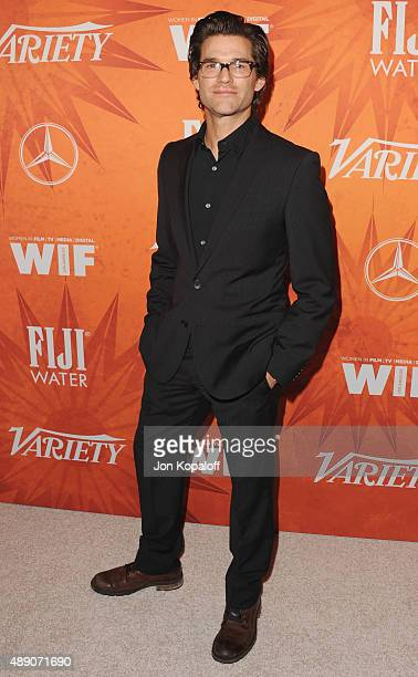 Actor Johnny Whitworth arrives at the Variety And Women In Film Annual PreEmmy Celebration at Gracias Madre on September 18 2015 in West Hollywood...