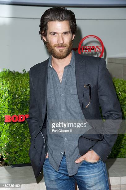 Actor Johnny Whitworth attends BODY at ESPYs at Milk Studios on July 14 2015 in Los Angeles California