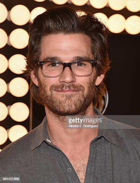 Actor Johnny Whitworth attends National Geographic Channel's 'Breakthrough' world premiere event at The Pacific Design Center on October 26 2015 in...