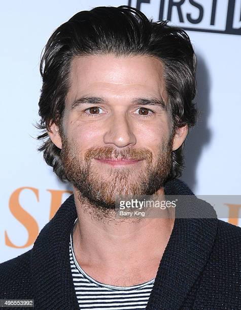 Actor Johnny Whitworth attends screening of Open Road Films' 'Spotlight' at the DGA Theater on November 3 2015 in Los Angeles California