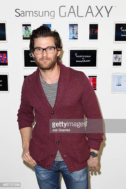 Actor Johnny Whitworth attends the 8th Annual Pieces of Heaven Art Auction presented by The Art of Elysium and Samsung Galaxy on February 17 2015 in...