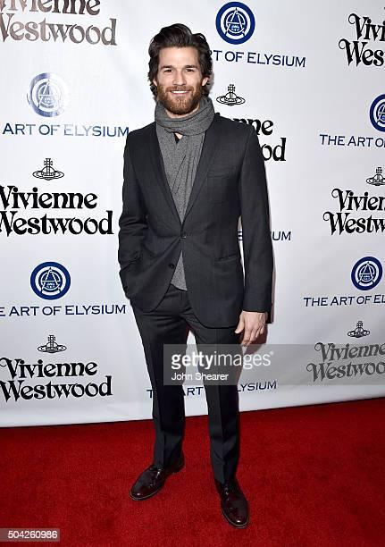 Actor Johnny Whitworth attends The Art of Elysium 2016 HEAVEN Gala presented by Vivienne Westwood Andreas Kronthaler at 3LABS on January 9 2016 in...