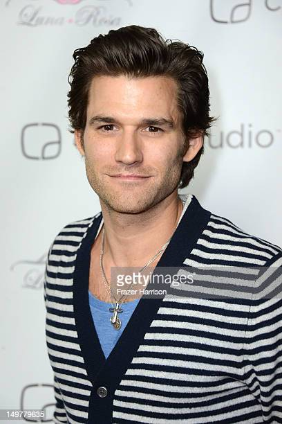 Actor Johnny Whitworth attends the Carbon Audio's Zooka Launch Party on August 3 2012 in West Hollywood California