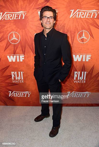 Actor Johnny Whitworth attends the Variety and Women in Film Annual PreEmmy Celebration at Gracias Madre on September 18 2015 in West Hollywood...