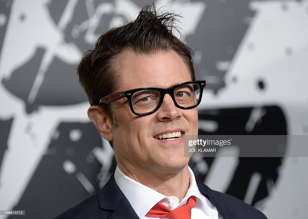 Actor Johny Knoxville arives at The World Premiere Of Lionsgate 'The Last Stand' held at Grauman's Chinese Theatre on January 14, 2013 in Hollywood, California.