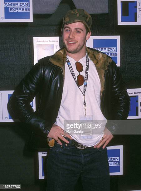 Actor Jon Abrahams attends the opening of Tribeca Film Festival on May 12 2002 at the Tribeca Film Center in New York City