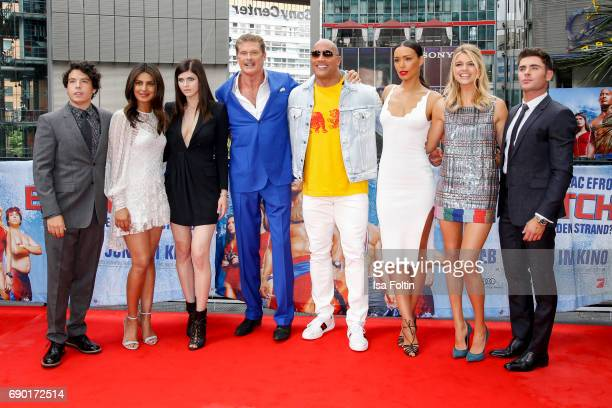 Actor Jon bass Indian actress and singer Priyanka Chopra US actress Alexandra Daddario US actor David Hasselhoff US Wrestler and actor Dwayne Johnson...