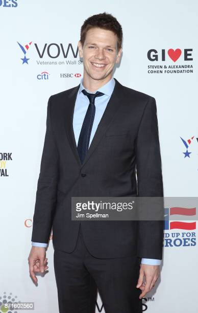 Actor Jon Beavers attends the 11th Annual Stand Up for Heroes at The Theater at Madison Square Garden on November 7 2017 in New York City