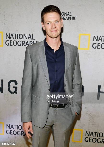 Actor Jon Beavers attends 'The Long Road Home' Washington DC Premiere on October 25 2017 at National Geographic in Washington DC