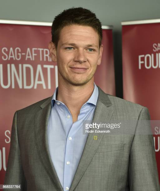 Actor Jon Beavers poses for portrait at SAGAFTRA Foundation Conversations screening of 'The Long Road Home' at SAGAFTRA Foundation Screening Room on...