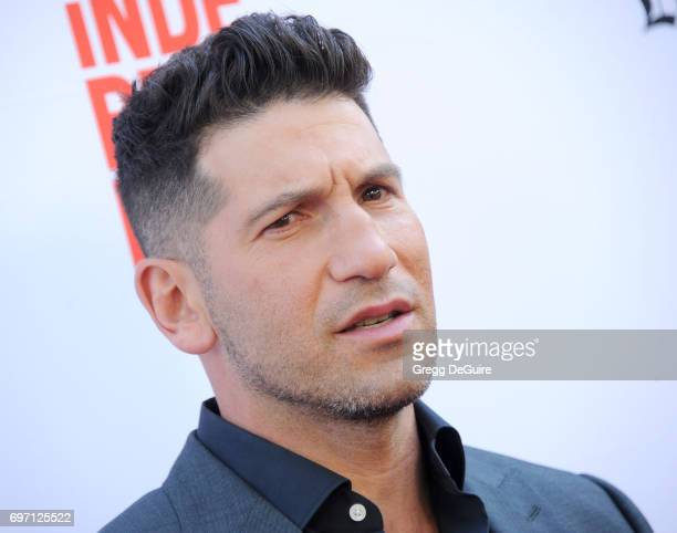 "Actor Jon Bernthal arrives at the 2017 Los Angeles Film Festival - Gala Screening Of ""Shot Caller"" at Arclight Cinemas Culver City on June 17, 2017..."