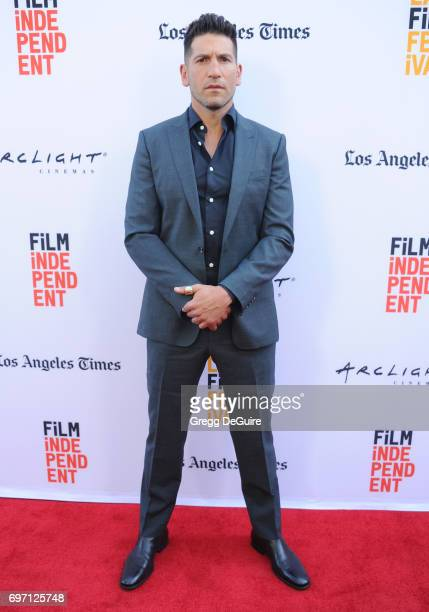 Actor Jon Bernthal arrives at the 2017 Los Angeles Film Festival Gala Screening Of 'Shot Caller' at Arclight Cinemas Culver City on June 17 2017 in...