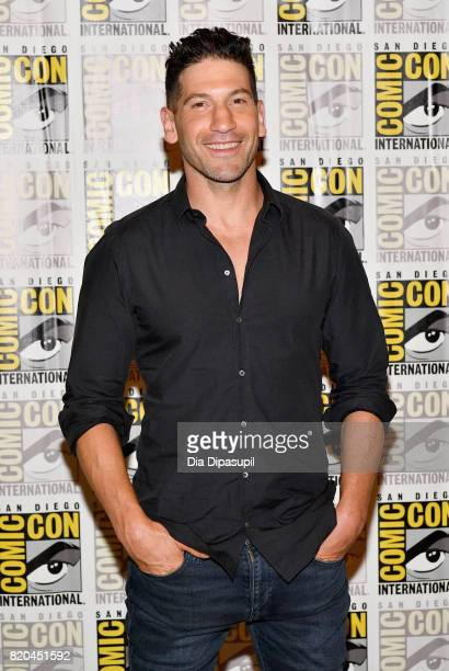 "Actor Jon Bernthal at Marvel's ""The Defenders"" Press Line during Comic-Con International 2017 at Hilton Bayfront on July 21, 2017 in San Diego,..."