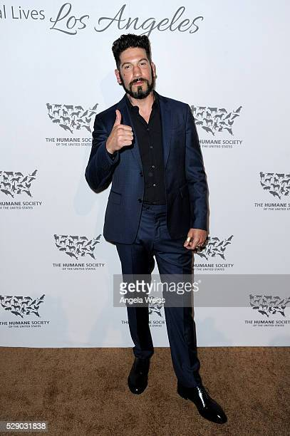 Actor Jon Bernthal attends The Humane Society of the United States' to the Rescue Gala at Paramount Studios on May 7, 2016 in Hollywood, California.