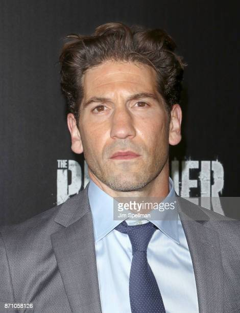 "Actor Jon Bernthal attends the ""Marvel's The Punisher"" New York premiere at AMC Loews 34th Street 14 theater on November 6, 2017 in New York City."