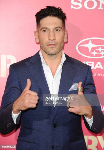 Actor Jon Bernthal attends the premiere of 'Baby Driver' at Ace Hotel on June 14 2017 in Los Angeles California
